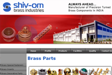 Outsourcing web promotion, Brass Parts