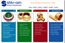 Outsourcing web promotion, Brass Parts Components