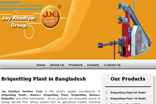 Outsourcing web promotion, Briketting Plant