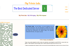 PHP Website India
