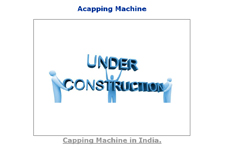 Acapping Machine